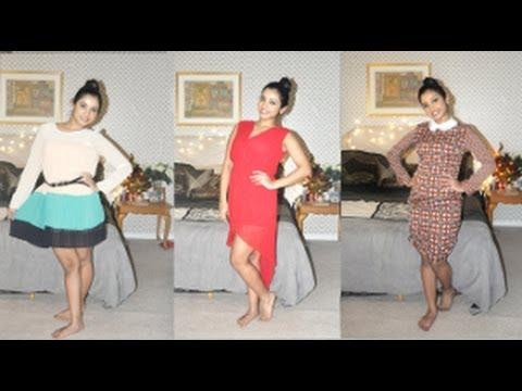 Fashion Haul in collaboration with Cichic.com.