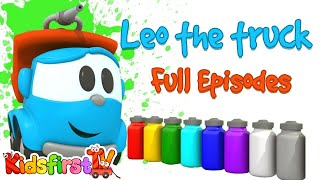 Learn colors with Leo the Truck! Full Episodes.