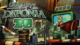 GOODBYE DEPONIA [HD+] #020 - SMUDO ist Cowboy Dodo ★ Let's Play Goodbye Deponia