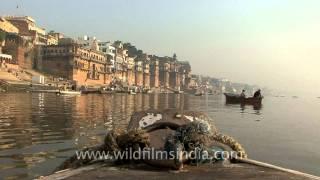 Ganga ghat of Varanasi