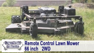 Remote Control Lawn Mower - Swisher Lawn Mower by SuperDroid Robots