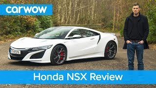 Honda-Acura NSX review - see why its acceleration is so mind-boggling!