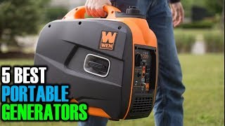 5 Best Portable Generators   Best Portable Generators   Best Portable Generators Reviews