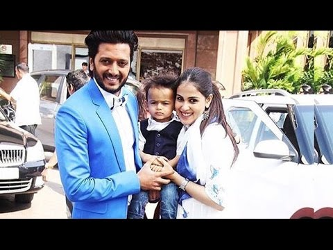 Xxx Mp4 Riteish Deshmukh And Genelia D 39 Souza With Their CUTE Baby 3gp Sex