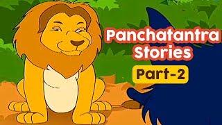 Panchatantra Stories | Part 2 | Animated Cartoon Movies | Moral Stories | Masti Ki Paathshala