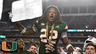 Miami DB Sheldrick Redwine Top Plays 2018
