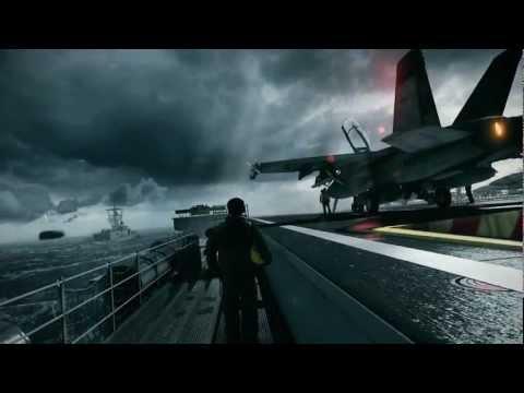 watch Battlefield 3 F18 Hornet Mission HD Full Mission