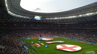 Croatia anthem 🇭🇷 Luzhniki stadium. World cup 2018, semifinal