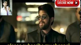 Dj intro New style#dialogue# hindi dubbed !Allu arjun! South Movie 'Dj' 2018 19