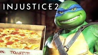 ZERANDO COM AS TARTARUGAS NINJA - Injustice 2