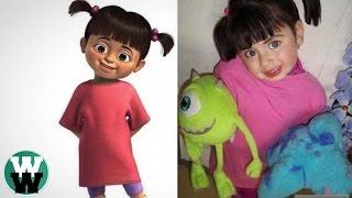 10 Cartoon Characters Who Are Actually REAL!