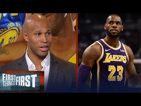 Richard Jefferson talks Lakers title chances Warriors adding a big fish NBA FIRST THINGS FIRST