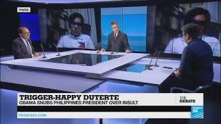 Trigger-Happy Duterte: Obama snubs Philippines President over insult (part 1)
