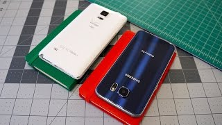 Samsung Galaxy S6 vs Galaxy Note 4