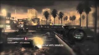 Call of Duty 4 Sniper Montage | WaRTeK | Historia [HD]