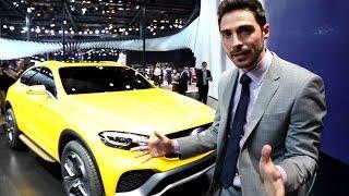 The design of the Concept GLC Coupé - Mercedes-Benz original