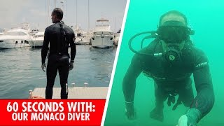 60 Seconds with: Monaco Red Bull Energy Station Diver Bruno Navarro