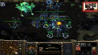 WARCRAFT 3: REIGN OF CHAOS - PARTIDA DIDÁCTICA vs HUMANO fast EXP