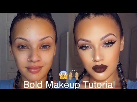 Bold Makeup Tutorial | Viva_Glam_Kay