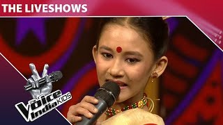 Manashi Performs On Chadh Gayo Papi Bichua | The Voice India Kids | Grand Finale