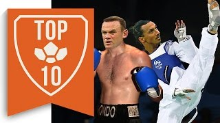 Top 10 Footballers That Could've Gone Pro In Other Sports