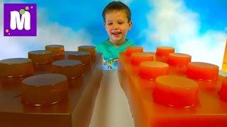 Огромные желейные Лего Мега блоки делаем сами World Largest Lego Gummy Blocks