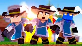 Minecraft: TRÊS MOSQUETEIROS - BED WARS ‹ AMENIC ›