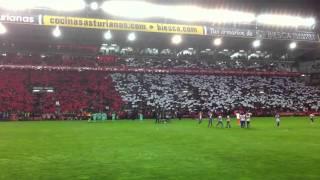 Sporting - Barça 2011. El Molinón
