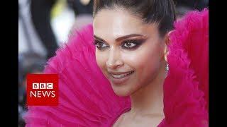 Indian Actress Deepika Padukone on the