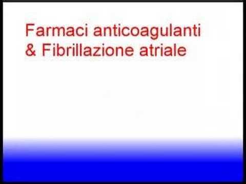 Disfunzione erettile farmaci anticoagulanti