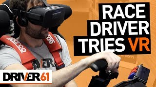 Pro-Driver Tries VR Racing Sim (Comparison to Real-Life)