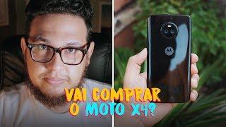 MOTO X4: não escolha pela câmera frontal (resposta da Motorola na descrição)