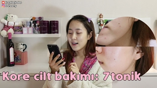 Kore cilt bakımı | 7 tonik