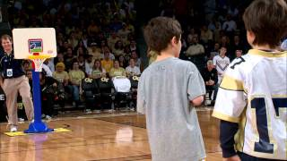 Georgia Tech Halftime Slam Dunk Contest