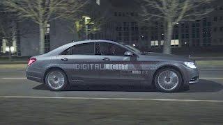 Mercedes-Benz DIGITAL LIGHT - New HD Headlamp Generation