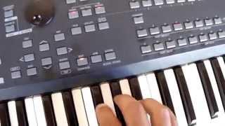 Fazendo divisão dos timbres modo song - par 1- Mox6