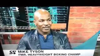 Mike Tyson knocks out smart ass TV interviewer