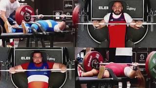 Top 4 Lifters   2018 Berck-sur-Mer   World Para Powerlifting
