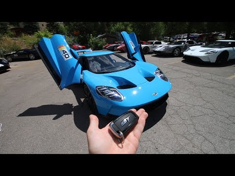 Somehow I found myself in the new 2017 Ford GT
