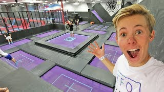 SUPER TRAMPOLINE HEAVEN! (100+)