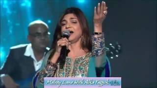 Alka Yagnik Singing