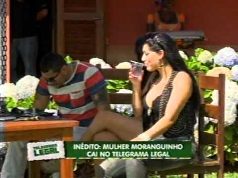 Domingo Legal Telegrama Legal Mulher Moranguinho