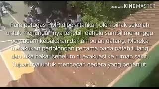 DEMONSTRASI KEBAKARAN Lomba Video Singkat Gelora II KSR PMI UNIT UNJ MTs Negeri 5 Jakarta