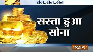 Gold Rates Dip To New Record