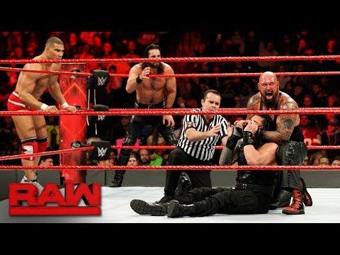 Xxx Mp4 Roman Reigns Seth Rollins Jason Jordan Vs The Bálor Club Raw Jan 8 2018 3gp Sex