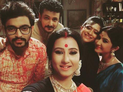 Punni Pukur Behind The Scenes   Star Jalsha Bangla TV Serial Punyi Pukur Making