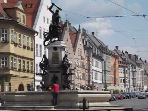 Augsburg, Germany: A historic city in