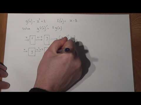 GCSE Maths: fg(x)=gf(x): Solving equations with composite functions