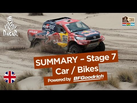 Stage 7 Summary Car Bike La Paz Uyuni Dakar 2017
