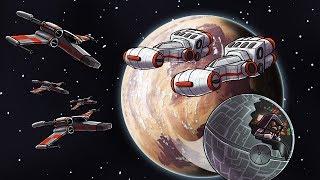 Minecraft | Dream Craft - SPACE BATTLE: Rebel Blockade! (Star Wars Movie)